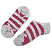 Wholesale Animal pattern & Aloe Infused SPA Socks polyester anti slip indoor slipper sock from china suppliers