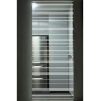 Quality Interior Door Silkscreen Printing Tempered Clear Glass , Decorative Tempered Glass for sale