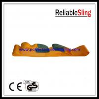 Wholesale Heavy duty polyester material Orange Flat Webbing Sling with single / multi - ply from china suppliers