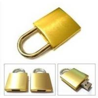 Wholesale Lock shape Metal USB Memory flash drive 16G 32G for promotional gift (MY-UME35) from china suppliers