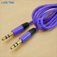 Wholesale Gold plated 2ft 3.5mm plug stero cable from china suppliers
