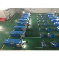 Wholesale Sky Blue Copper Wire Twisting Machine , Touch Screen Operation from china suppliers