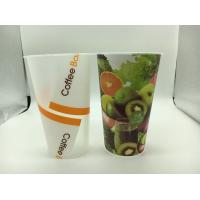 Wholesale Advertising Logo custom printed plastic cups / plastic drinking cup FDA certificate from china suppliers