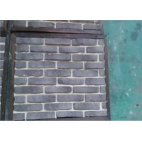 Wholesale OEM Solid SurfaceFaux Exterior Brick With Rustic Color Enviromentall Friendly from china suppliers