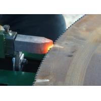 Buy cheap Steel mill circular saw blade tooth tip electrode hardening machine from wholesalers