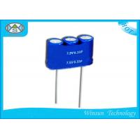 Wholesale Combined Type Farad Super Capacitor 7.5V 0.33F 3.3F Wire Lead Mounting For Gas Meter from china suppliers