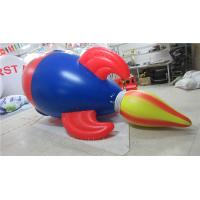 Wholesale Air Tight Inflatable Model PVC Advertising Inflatable Helium Rocket from china suppliers