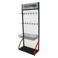 Wholesale Supermarket Food Wire Display Stands Five Tier Single side with Metal from china suppliers