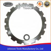 Wholesale 350mm Ring Saw Blade For Cutting Concrete , 14 Inch Concrete Saw Blade from china suppliers