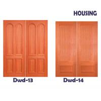 Wholesale Good Noise Isolation Timber Composite Doors 2000 * 800 * 40 mm from china suppliers