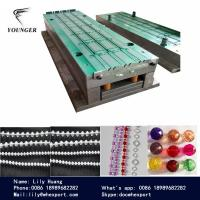 Quality plastic Rosary string Beaded Beads round ball Chain making  machine machinery for roller blinds curtains for sale