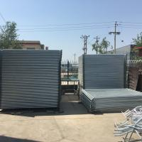 Wholesale Chepaest Temporary Fencing panels 2000mm x 2200mm width OD 32 pipes suit for new zealand market from china suppliers