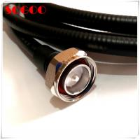 Wholesale 4.3-10 RF Jumper Cable Connector 7/16 Din Male For 1/2 Super Flexible Cable from china suppliers