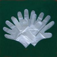 Wholesale S, M, L or XL HDPE Disposable Work Gloves for medical and testing from china suppliers