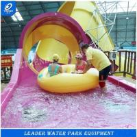 Wholesale Comercial Indoor Water Play Small Slide / Water Park Ride 100m3 / Hr Water Supply from china suppliers