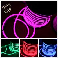 Wholesale Shenzhen led lighting 14*26mm full color changing RGB led neon tube DC 12V from china suppliers