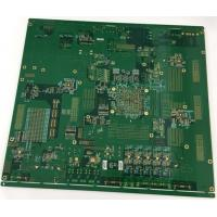 Wholesale 4 layers Rogers + FR4 PCB with gold plating edge and vias in plating from china suppliers