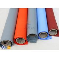 Wholesale Expansion Joint 3732 silicone rubber coated fiberglass fabric Grey Blue 350gsm 580gsm from china suppliers