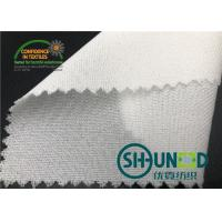 Wholesale 55GSM Fusible Woven Adhesive Liner /White  Interlining In Garments from china suppliers