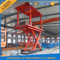 Wholesale 5T 3M Double Deck Car Parking System Lift Home Scissor Car Lift for 2 Car with CE TUV from china suppliers
