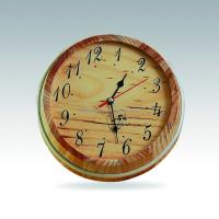 Buy cheap pine sauna clock from wholesalers