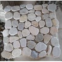 Wholesale Oyster Mosaic Pattern Natural Stone Mosaic Floor Tiles Oyster Slate Mosaic Parquet Wall Tile from china suppliers