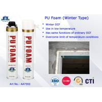 Wholesale Winter Type PU Foam Insulation Spray B3 Fire Resistant for Doors and Windows from china suppliers