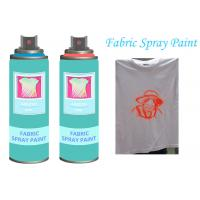 Quality Fast Dry  Non - toxic Aerosol Fabric Spray Paint For Textile  Soft  Pliable for sale