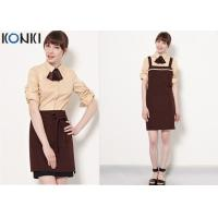 Wholesale Coffee Shop Fine Dining Restaurant Uniforms With High - End Suit from china suppliers