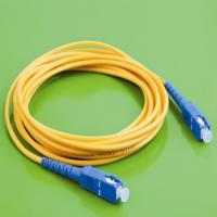 Wholesale Single Mode Fiber Optic Patch Cables , SC To SC Fiber Patch Cable High Disposal Density from china suppliers