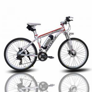 Wholesale Women Pink Electric Downhill Mountain Bike Double Disc Brake E Bike Mountain Bike from china suppliers