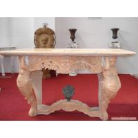Wholesale Red Limestone Carved Bench With Nude Woman from china suppliers