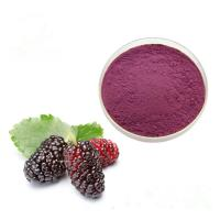China Natural Mulberry Fruit Extract Anthocyanin CAS 84082-34-8 100% Pass 80 Mesh on sale