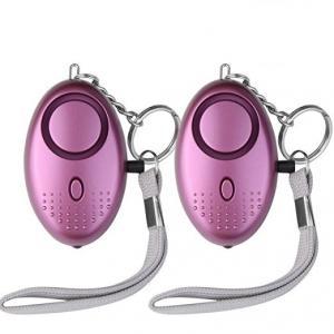 Buy cheap SOS Emergency Alarm with LED Flashlight Anti-rape Anti-theft Keychain Alarm for Students,Women,Kids,Elderly,Explorer from wholesalers