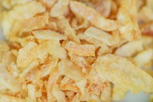Wholesale 40*40mm Crunchy Condiment Fried Onion Flakes For Steak from china suppliers