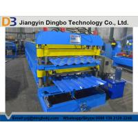 Wholesale Steel Tile Forming Machine with PLC Control System for Industry and Civilian Building from china suppliers