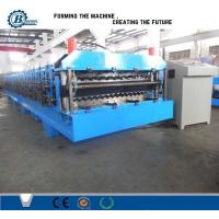 Wholesale High Speed Double Layer Roll Forming Machine , Roof Sheet Making Machine from china suppliers