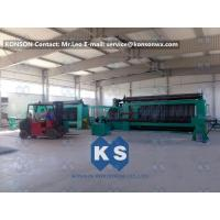 Wholesale Twisting Metal Wire Hexagonal Gabion Mesh Weaving Machine , 4300mm Double Rack Drive from china suppliers