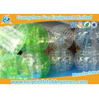 Wholesale Inflatable Bubble Ball TPU Dia 1.2m 1.5m 1.8m For Head Sport Football from china suppliers