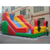 Wholesale Durable Adult Commercial Inflatable Slide , Inflatable Water Slides from china suppliers