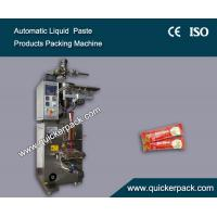 Wholesale Fully Automatic Three Sides Seal Bag Liquid Tomato Ketchup Packaging Machine from china suppliers