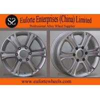 Wholesale 16inch 6 Spoke 4x4 Off Road Wheels 6x130 Silver Machine Face SUV from china suppliers