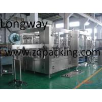 Wholesale Monoblock 3 In 1 Carbonated Drink Filling Machine from china suppliers