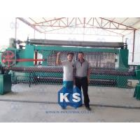 Wholesale Anti Corrosion Hexagonal Mesh Machine , High Efficiency Gabion Weaving Machine from china suppliers