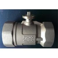 Wholesale Motorised 3 Way Ball Valve DN20 Medium Pressure For HVAC / Heating System from china suppliers