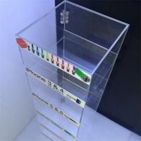 Wholesale acrylic mobile phone accessories display rack,charge display stand from china suppliers