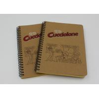 Wholesale Handmade Brown Craft Cover Recycled Paper Notebook For Office Staff from china suppliers