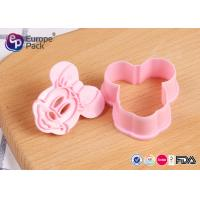 Quality Pink Children Safety Plastic Kitchenware 12.4G 6 Cm Long 5.5 Cm Width for sale