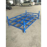 Quality Foldable Warehouse Storage Stacking Rack for fabrics, tires, cartons for sale