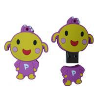 Wholesale promotional gift cartoon sillicon USB disk 1GB 2GB 4GB 8GB 16GB 32GB  from china suppliers